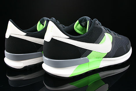 Nike Air Pegasus 83/30 Anthracite Sail Flash Lime Black Back view