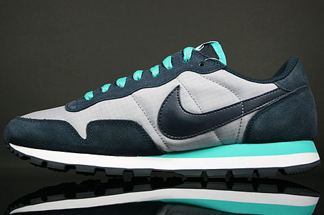 Nike Air Pegasus 83 SI Wolf Grey Dark Obsidian Back view