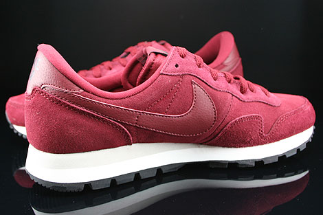 Nike Air Pegasus 83 Suede Team Red Mortar Black Inside