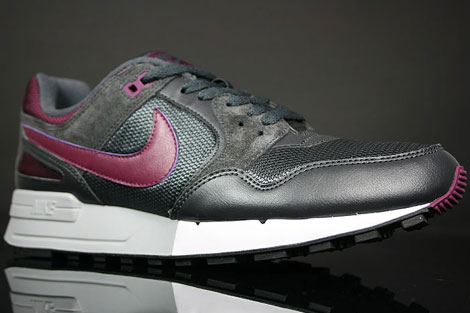 Nike Air Pegasus 89 Anthracite Silver Dark Charcoal Profile