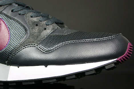 Nike Air Pegasus 89 Anthracite Silver Dark Charcoal Sidedetails