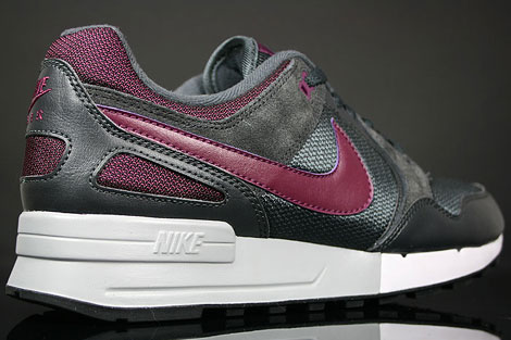 Nike Air Pegasus 89 Anthracite Silver Dark Charcoal Back view