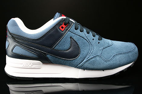 Nike Air Pegasus 89 New Slate Dark Obsidian University Red