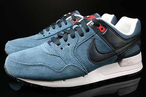 Nike Air Pegasus 89 New Slate Dark Obsidian University Red Profile