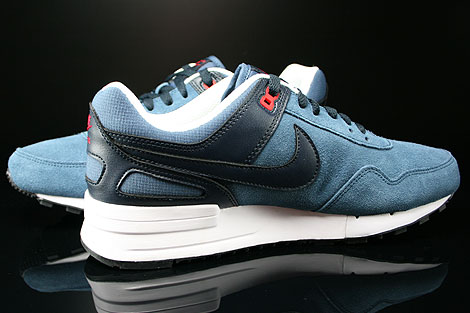 Nike Air Pegasus 89 New Slate Dark Obsidian University Red Inside