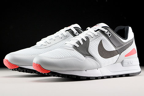 Nike Air Pegasus 89 NS White Anthracite Bright Crimson Sidedetails