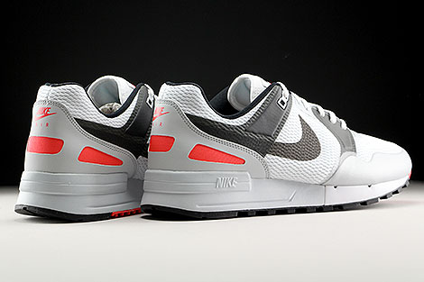 Nike Air Pegasus 89 NS White Anthracite Bright Crimson Back view