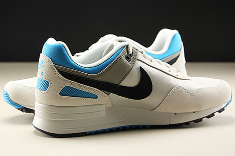 Nike Air Pegasus 89 Light Bone Black Vivid Blue Innenseite