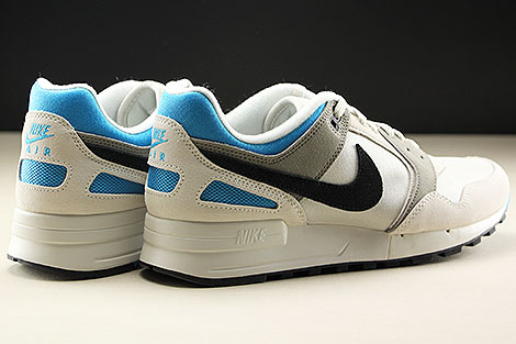 Nike Air Pegasus 89 Light Bone Black Vivid Blue Rueckansicht
