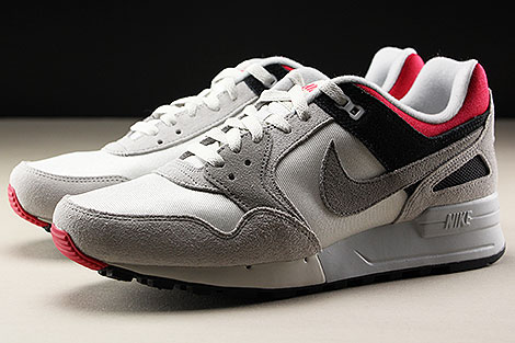 Nike Air Pegasus 89 Swan Medium Grey Rose Coral Black Seitendetail