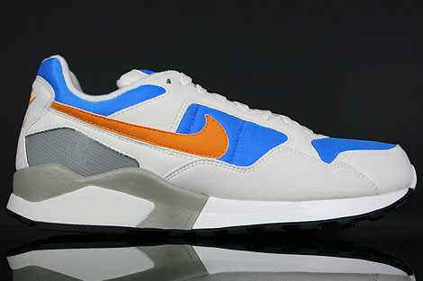 Nike Air Pegasus 92 Sail Orange Photo Blue Silver