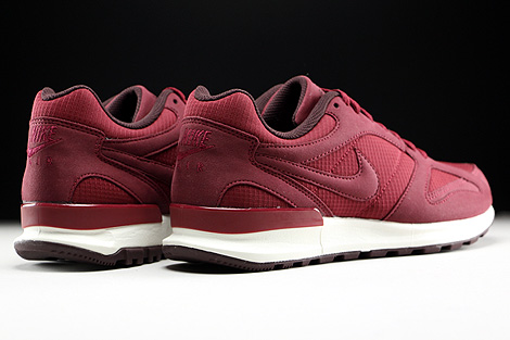 Nike Air Pegasus New Racer Team Red Mahogany Sail Back view