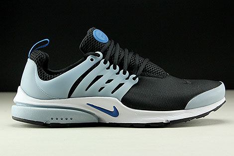 Nike Air Presto Essential Black Blue Jay Light Armory Blue Right