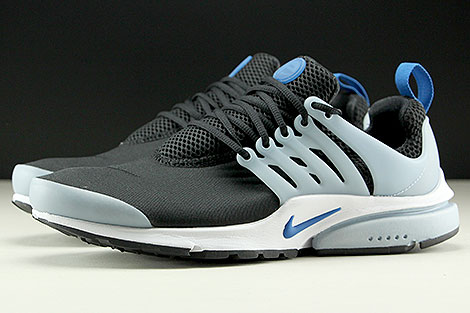 Nike Air Presto Essential Black Blue Jay Light Armory Blue Profile