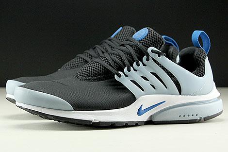 Nike Air Presto Essential Schwarz Blau Hellblau Weiss Seitenansicht