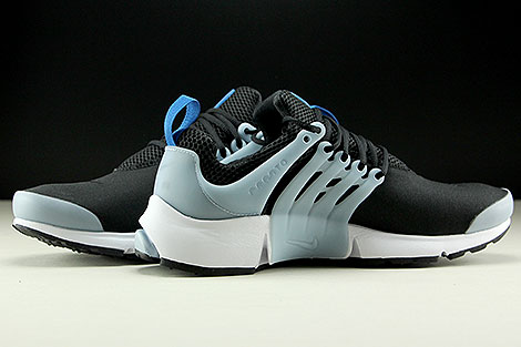 Nike Air Presto Essential Black Blue Jay Light Armory Blue Inside