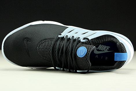 Nike Air Presto Essential Schwarz Blau Hellblau Weiss Oberschuh