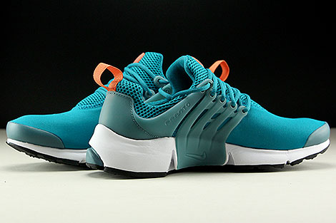 Nike Air Presto Essential Tuerkis Orange Weiss Innenseite