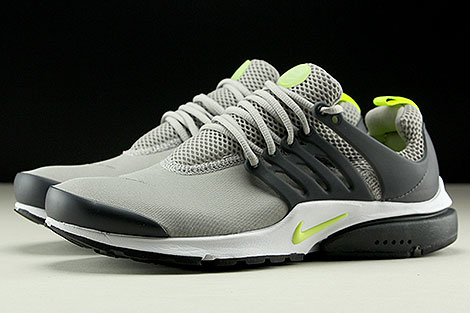 Nike Air Presto Essential Cobblestone Volt Anthracite Profile