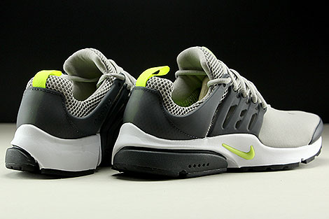 Nike Air Presto Essential Cobblestone Volt Anthracite Back view