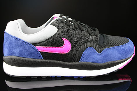 Nike Air Safari Black Pink Foil Deep Royal Blue Silver Right