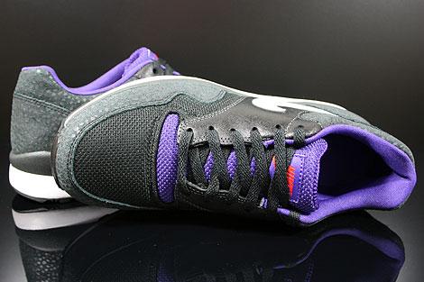 Nike Air Safari LE Anthracite White Black Purple Over view