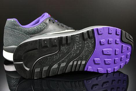 Nike Air Safari LE Anthracite White Black Purple Outsole