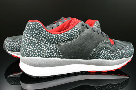 Nike Air Safari LE Metallic Silver White Anthracite Red Inside