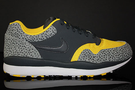 Saturar Dólar Gallo  Nike Air Safari LE Neutral Grey Anthracite Yellow White 371740-071 ...