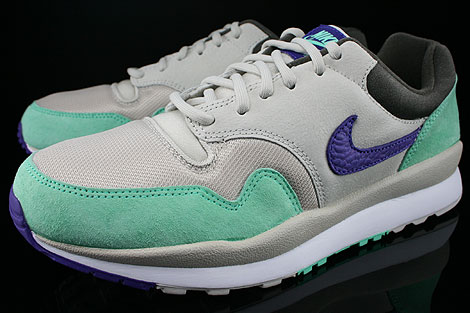 Nike Air Safari Mortar Electric Purple Green Glow Petra Brown Sidedetails
