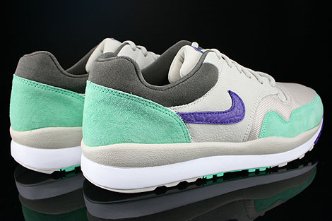 Nike Air Safari Mortar Electric Purple Green Glow Petra Brown Back view
