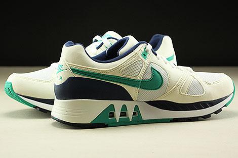 Nike Air Stab  White Emerald Green Sail Midnight Navy Innenseite
