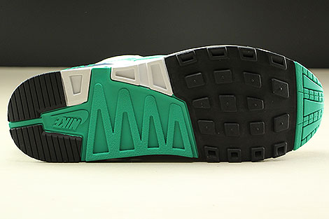 Nike Air Stab  White Emerald Green Sail Midnight Navy Outsole