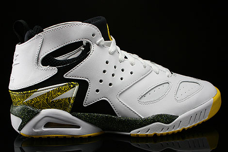 Nike Air Tech Challenge Huarache White Black Tour Yellow