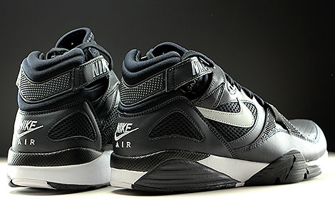 Nike Air Trainer Max 91 Anthracite Pure Platinum Black Back view
