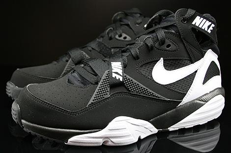 Nike Air Trainer Max 91 Black White Black Profile