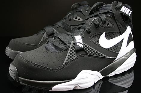 Nike Air Trainer Max 91 Black White Black Sidedetails