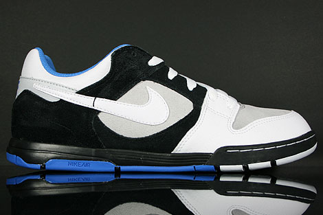 Nike Air Twilight Black White Platinum Italy Blue Right