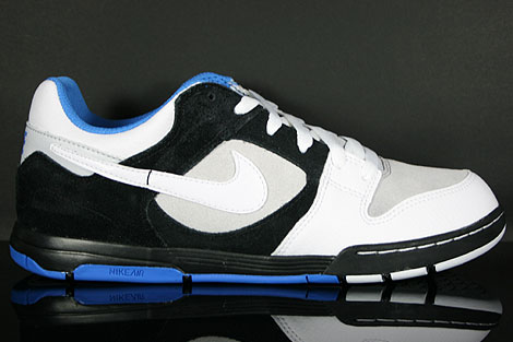 Nike Air Twilight Black White Platinum Italy Blue Profile