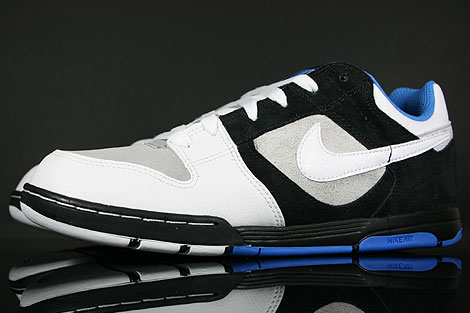 Nike Air Twilight Black White Platinum Italy Blue Sidedetails