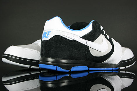 Nike Air Twilight Black White Platinum Italy Blue Over view