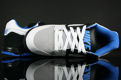 Nike Air Twilight Black White Platinum Italy Blue Shoebox