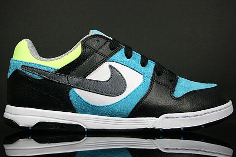 Nike Air Twilight Schwarz Hellblau Weiss Neon Gelb