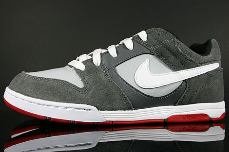Nike Air Twilight Dark Grey White Wolf Grey Sidedetails