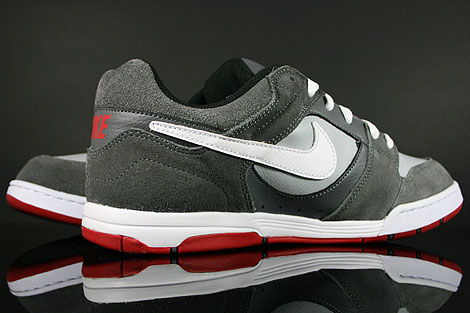 Nike Air Twilight Dark Grey White Wolf Grey Back view