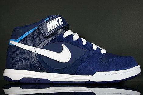 Nike Air Twilight Mid Dunkelblau Weiss Hellblau