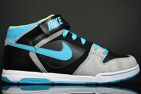 Nike Air Twilight Mid Black Chlorine Blue Grey