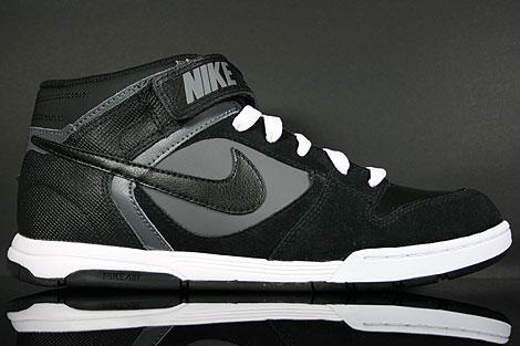 Nike Air Twilight Mid Black Dark Grey White