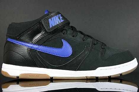 Nike Air Twilight Mid Black Drenched Blue Right