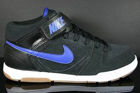 Nike Air Twilight Mid Black Drenched Blue Profile